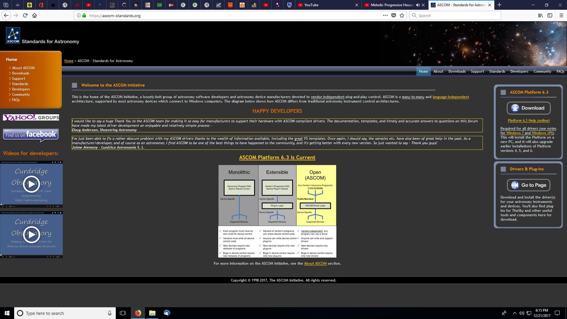 Ascom controlled motorfocus – CORIUS Astronomy